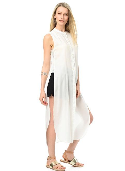 Vero Moda Tunik Gömlek Beyaz